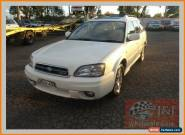 2002 Subaru Outback MY02 H6 White Automatic 4sp A Wagon for Sale