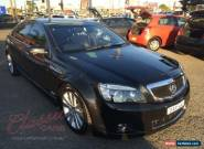 2010 Holden Caprice WM MY10 Black Automatic 6sp A Sedan for Sale