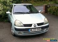 RENAULT CLIO 3 DOOR 1.2 IN SILVER 2003 MODEL for Sale