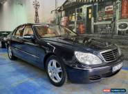 2005 Mercedes-Benz S430 W220 MY05 Green Black Automatic 7sp A Sedan for Sale