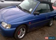 Ford escort convertible cabriolet 1.6  for Sale