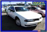 Classic 1999 Mitsubishi Magna TH Executive White Automatic 4sp A Sedan for Sale