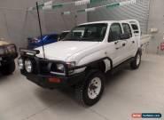 2002 Toyota Hilux SR D-CAB Manual 5sp M Dual Cab for Sale