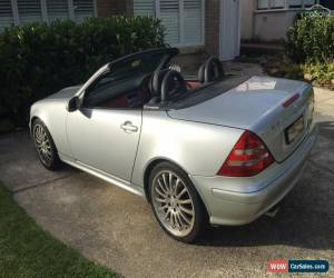 Classic 2001 Mercedes-Benz SLK320  R170 Roadster 2dr Auto 5sp 3.2i for Sale