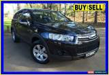 Classic 2011 Holden Captiva CG Series II 7 SX (FWD) Black Automatic 6sp A Wagon for Sale