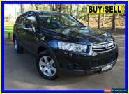 2011 Holden Captiva CG Series II 7 SX (FWD) Black Automatic 6sp A Wagon for Sale