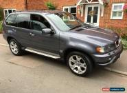 2002 BMW X5 3.0d SPORT AUTO GREY LOW MILES FULL SERVICE HISTORY  for Sale