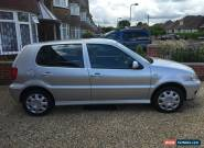 2001/Y VOLKSWAGEN POLO 1.4 S 5 DOOR SILVER for Sale