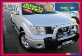 Classic 2007 Nissan Navara D40 ST-X Silver Automatic 5sp A Dual Cab Pick-up for Sale