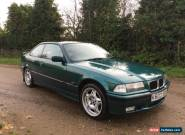 BMW E36 325 Coupe - 3 Series M50 Laguna Green for Sale
