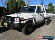 2011 Toyota Landcruiser VDJ79R 09 Upgrade GX (4x4) Manual 5sp M Cab Chassis for Sale
