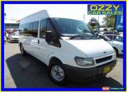 2006 Ford Transit VJ 12 Seat White Automatic 5sp A Bus for Sale