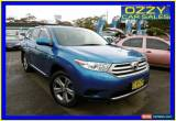 Classic 2010 Toyota Kluger GSU45R MY11 Upgrade KX-R (4x4) 7 Seat Blue Automatic 5sp A for Sale