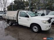 2010 Toyota Hilux GGN15R MY11 Upgrade SR White Automatic 5sp A Cab Chassis for Sale