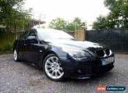 2006 BMW 520D M SPORT 4DR MANUAL DIESEL IN BLACK for Sale