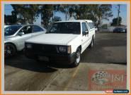 1993 Mitsubishi Triton MJ (4x4) White Manual 5sp M Dual Cab Utility for Sale