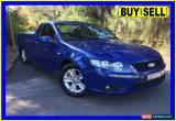 Classic 2008 Ford Falcon FG R6 (LPG) Blue Automatic 4sp A Utility for Sale