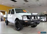 2010 Nissan Navara 4X4 ST-R Blue Manual M Dual Cab Utility for Sale