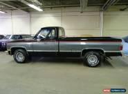 1986 Chevrolet C-10 for Sale