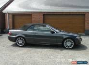 2006 BMW 3 SERIES E46 3.0 330CD SE DIESEL CONVERTIBLE for Sale