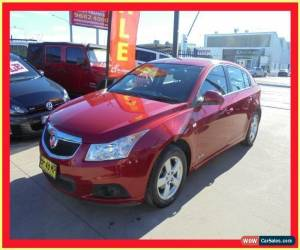 Classic 2012 Holden Cruze JH Series II MY12 CD Burgundy Automatic A Hatchback for Sale