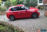 Classic BMW 120D SPORT AUTO RED 2012 for Sale