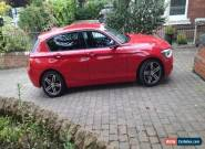 BMW 120D SPORT AUTO RED 2012 for Sale
