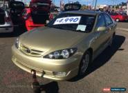 2004 Toyota Camry ACV36R Sportivo Gold Automatic 4sp A Sedan for Sale