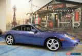 Classic 1998 Porsche 911 Carrera 996 Blue Automatic 5sp A Coupe for Sale