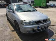 2002 VAUXHALL ASTRA LS 16V GREY for Sale