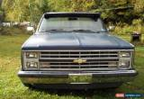 Classic 1987 Chevrolet Other Pickups C 10 for Sale