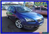 Classic 2007 Ford Focus LS XR5 Turbo Blue Manual 6sp M Hatchback for Sale