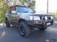 2005 Nissan Patrol GU IV MY05 ST Bronze Manual 5sp M Wagon for Sale