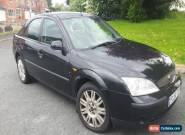2001 FORD MONDEO 1.8  LX BLACK 5 DOOR HATCHBACK for Sale