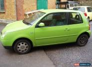 diesel VOLKSWAGEN LUPO S SDI GREEN 1.7 new mot full serive for Sale