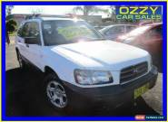 2004 Subaru Forester MY04 X White Manual 5sp M Wagon for Sale