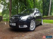 2010 VAUXHALL INSIG ELITENAV CDTI EFLEX BLACK ESTATE for Sale