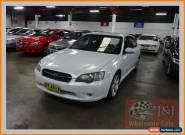 2003 Subaru Liberty MY04 2.5I White Automatic 4sp A Sedan for Sale