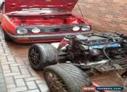 Volkswagen mk2 golf vr6 widetrack project tornado red for Sale