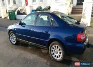 2001 AUDI A4 1.8 SE AUTO BLUE, NEW PARTS, MOT, flip up screen, CD, DVD, GPS for Sale