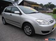 2005 Toyota Corolla ZZE122R Ascent Seca White Automatic 4sp A Hatchback for Sale