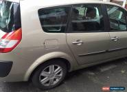 7 Seater Renault Grand Scenic VVT 2 Dynamique S 5dr 2006 Gold 1998CC Automatic for Sale