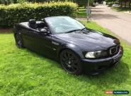 Bmw m3 e46 carbon black manual beautiful car great investment 2006 for Sale