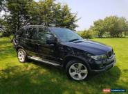 BMW x5 Sport 3.0l 2004 Petrol Auto Fully Loaded Black 99K for Sale