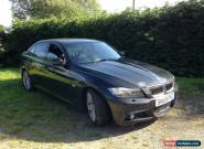 2009 BMW 330D M SPORT LCI BLACK SPARES OR REPAIR for Sale
