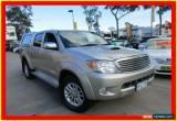 Classic 2008 Toyota Hilux KUN26R MY08 SR5 Silver Automatic 4sp A 4D UTILITY for Sale