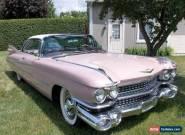 1959 Cadillac DeVille Coupe de Ville Serie 62 for Sale
