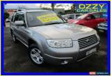Classic 2007 Subaru Forester MY07 X Luxury Silver Automatic 4sp A Wagon for Sale