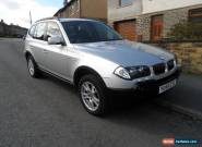 bmw x3 3.0d auto for Sale