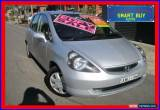 Classic 2004 Honda Jazz Upgrade GLi Silver Automatic A Hatchback for Sale